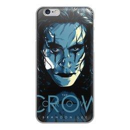 """Чехол для iPhone 6, объёмная печать """"Ворон/The Crow"""" - crow, ворон, thecrow, brandonlee, брэндонли"""
