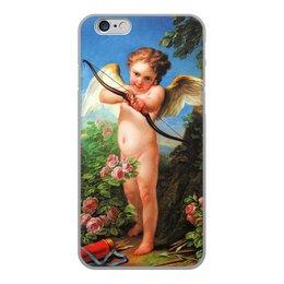 """Чехол для iPhone 6, объёмная печать """"Амур, стреляющий из лука (Шарль-Андре ван Лоо)"""" - картина, шарль-андре ван лоо"""