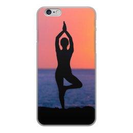 """Чехол для iPhone 6, объёмная печать """"Без названия"""" - йога, чехлы"""