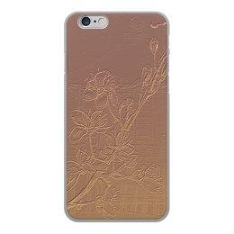 "Чехол для iPhone 6, объёмная печать ""Сакура."" - япония, сакура, ветка сакуры, цветы сакуры, глина"