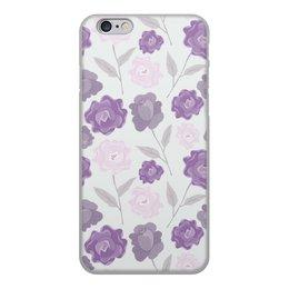"""Чехол для iPhone 6, объёмная печать """"цветы"""" - лето, цветы, узор, природа, цветочки"""
