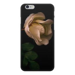 """Чехол для iPhone 6, объёмная печать """"Шиповник"""" - лето, цветы, роза, шипы, летнее настроение"""