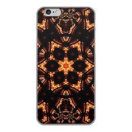 """Чехол для iPhone 6, объёмная печать """"Голос Огня"""" - огонь, подарок, абстракция, фрактал, спектр"""