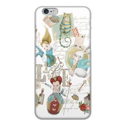 """Чехол для iPhone 6, объёмная печать """"Алиса в стране чудес"""" - мультик, фантастика, алисавстранечудес, длядевочек"""