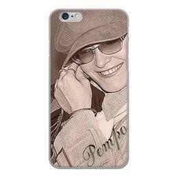 """Чехол для iPhone 6, объёмная печать """"Ретро."""" - девушка, стиль, ретро, улыбка, фотография"""