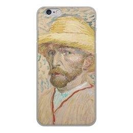 """Чехол для iPhone 6, объёмная печать """"Винсент ван Гог (автопортрет)"""" - картина, ван гог, живопись, гетерохромия"""