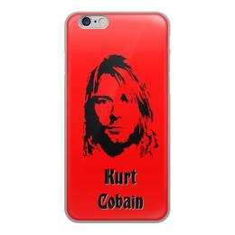 """Чехол для iPhone 6, объёмная печать """"Курт Кобейн"""" - nirvana, kurt, курт, кобейн, cabain"""