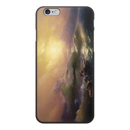 """Чехол для iPhone 6, объёмная печать """"Девятый вал (картина Айвазовского)"""" - картина, живопись, айвазовский"""