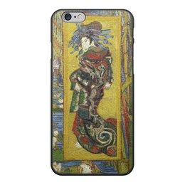 """Чехол для iPhone 6, объёмная печать """"Куртизанка (Винсент Ван Гог)"""" - картина, ван гог"""