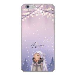 """Чехол для iPhone 6, объёмная печать """"Ariana Grande """" - музыка, певица, фотография, арианагранде"""