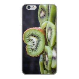 """Чехол для iPhone 6, объёмная печать """"Лето!"""" - лето, фрукты, киви, сладость, сочный киви"""