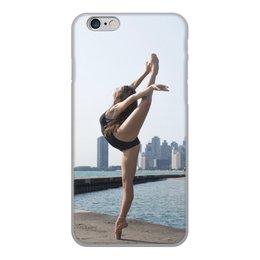 """Чехол для iPhone 6, объёмная печать """"Балерина"""" - девушки"""