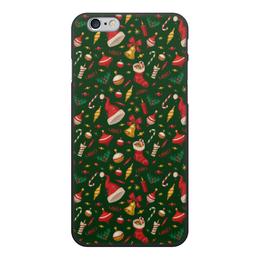 """Чехол для iPhone 6, объёмная печать """"Новогоднее настроение"""" - праздник, новый год"""