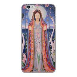 """Чехол для iPhone 6, объёмная печать """"Дева (картина Джозефа Стеллы)"""" - картина, живопись, футуризм, абстракционизм, стелла"""