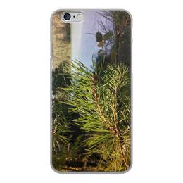 """Чехол для iPhone 6, объёмная печать """"Удивительный Алтай"""" - лето, summer, природа, озеро, алтай"""