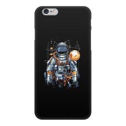 """Чехол для iPhone 6, объёмная печать """"Космонавт"""" - космос, вселенная, космонавт"""