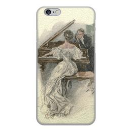 """Чехол для iPhone 6, объёмная печать """"День Святого Валентина"""" - настроение, картина, винтаж, 14фев, harrison fisher"""