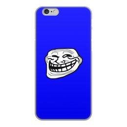 """Чехол для iPhone 6, объёмная печать """"Mem смех"""" - смех, приколы, лицо, мемы, mem"""