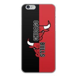 "Чехол для iPhone 6, объёмная печать ""Чикаго Буллз"" - чикаго буллз, chicago bulls, баскетбол, спорт"
