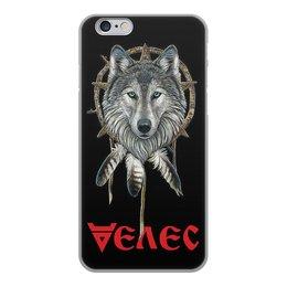 """Чехол для iPhone 6, объёмная печать """"ВЕЛЕС. СЛАВЯНСКИЕ БОГИ"""" - стиль, волк, тотем, славянская мифология, арт фэнтези"""