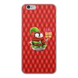 """Чехол для iPhone 6, объёмная печать """"пингвин"""" - новый год, зима, птицы, подарки, пингвин"""