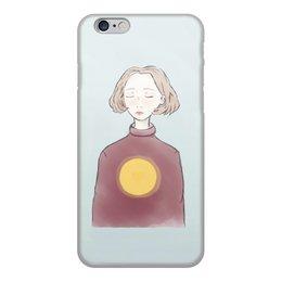 """Чехол для iPhone 6, объёмная печать """"SUN GIRL !"""" - рисунок"""
