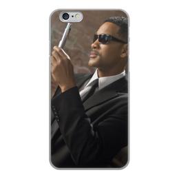 """Чехол для iPhone 6, объёмная печать """"Вспышка - Стирание памяти"""" - уилл смит, люди в черном, вспышка, men in black, стирание памяти"""