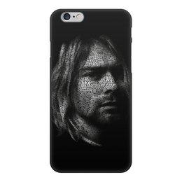 "Чехол для iPhone 6, объёмная печать ""Курт Кобейн"" - музыка, nirvana, рок, курт кобейн"