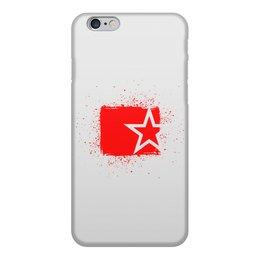 """Чехол для iPhone 6, объёмная печать """"Звезда ко Дню Победы"""" - звезда, 9 мая, день победы"""
