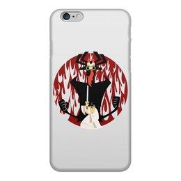 "Чехол для iPhone 6, объёмная печать ""Самурай Джек"" - самурай, мульт, джек, аку"