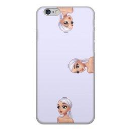 """Чехол для iPhone 6, объёмная печать """"Ариана Гранде"""" - музыка, арт, фотография, арианагранде"""