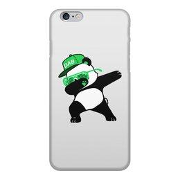 """Чехол для iPhone 6, объёмная печать """"Dab Panda """" - животные, панда, panda, дэб, dab"""