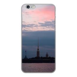"""Чехол для iPhone 6, объёмная печать """"Питер"""" - питер, санкт-петербург, нева"""