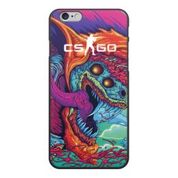 """Чехол для iPhone 6, объёмная печать """"CS GO   """" - cs go, кс го, игры"""