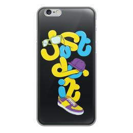 """Чехол для iPhone 6, объёмная печать """"Just do it (просто сделай это)"""" - just do it, цитаты"""