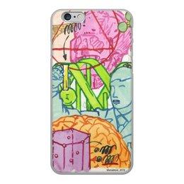 """Чехол для iPhone 6, объёмная печать """"DNA Misha Most """" - наука, ученый, врач, днк, dna"""