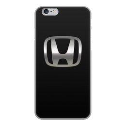 """Чехол для iPhone 6, объёмная печать """"HONDA """" - авто, машина, мото, honda, хонда"""