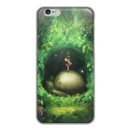 """Чехол для iPhone 6, объёмная печать """"Тоторо"""" - муль"""