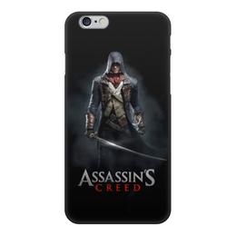 """Чехол для iPhone 6, объёмная печать """"Assassins Creed (Unity Arno)"""" - игра, assassins creed, воин, unity arno, арно"""