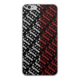 """Чехол для iPhone 6, объёмная печать """"Supreme"""" - узор, надписи, бренд, supreme, суприм"""