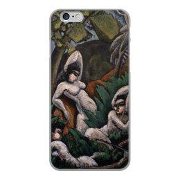 """Чехол для iPhone 6, объёмная печать """"Лето (картина Макса Вебера)"""" - картина, живопись, кубизм, модерн, вебер"""