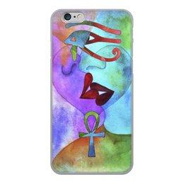 """Чехол для iPhone 6, объёмная печать """"Бесконечная любовь"""" - сердце, любовь, губы, абстракция, поцелуй"""