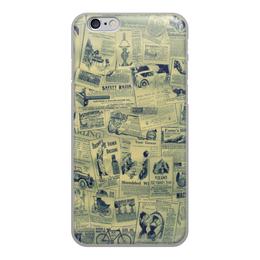 """Чехол для iPhone 6, объёмная печать """"Ретро"""" - ретро"""