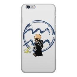 """Чехол для iPhone 6, объёмная печать """"Знаки зодиака - водолей"""" - череп, водолей, знак зодиака"""