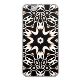 """Чехол для iPhone 6, объёмная печать """"Кофейный"""" - подарок, абстракция, фрактал, digital art, спектр"""