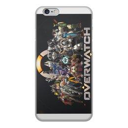 """Чехол для iPhone 6, объёмная печать """"Overwatch """" - игры, 23 февраля, чехол для iphone, overwatch, овервотч"""