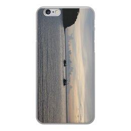 """Чехол для iPhone 6, объёмная печать """"ЗАКАТ В ТАЙЛАНДЕ"""" - море, природа, закат, тайланд"""