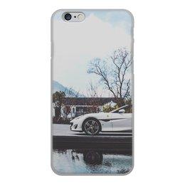 """Чехол для iPhone 6, объёмная печать """"Ferrari """" - авто, красота, машины, тег, тег авто"""