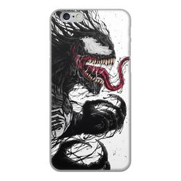 """Чехол для iPhone 6, объёмная печать """"Веном (Venom)"""" - марвел, комиксы, веном, venom, comics"""