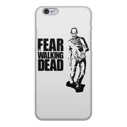 """Чехол для iPhone 6, объёмная печать """"Бойтесь ходячих мертвецов"""" - зомби, ходячие мертвецы, twd"""